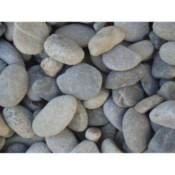 Galets gabions en pierre naturelle, gris, 20/50 mm, 25 kg   Leroy ...