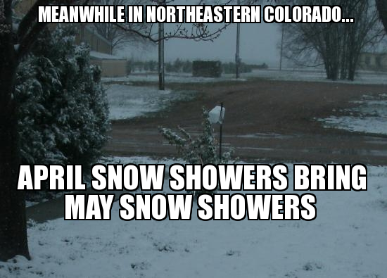 Funny Memes For Snow : Funny memes about snow april showers colorado april snow showers