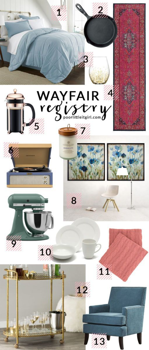 The Launch Of Wayfair Wedding Registry Sweepstakes Poor Little It Girl Wayfair Registry Wayfair Wedding Registry Wayfair