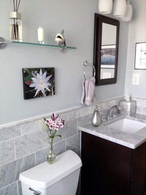 Wall Color Is Sherwin Williams North Star Bathroom Wall