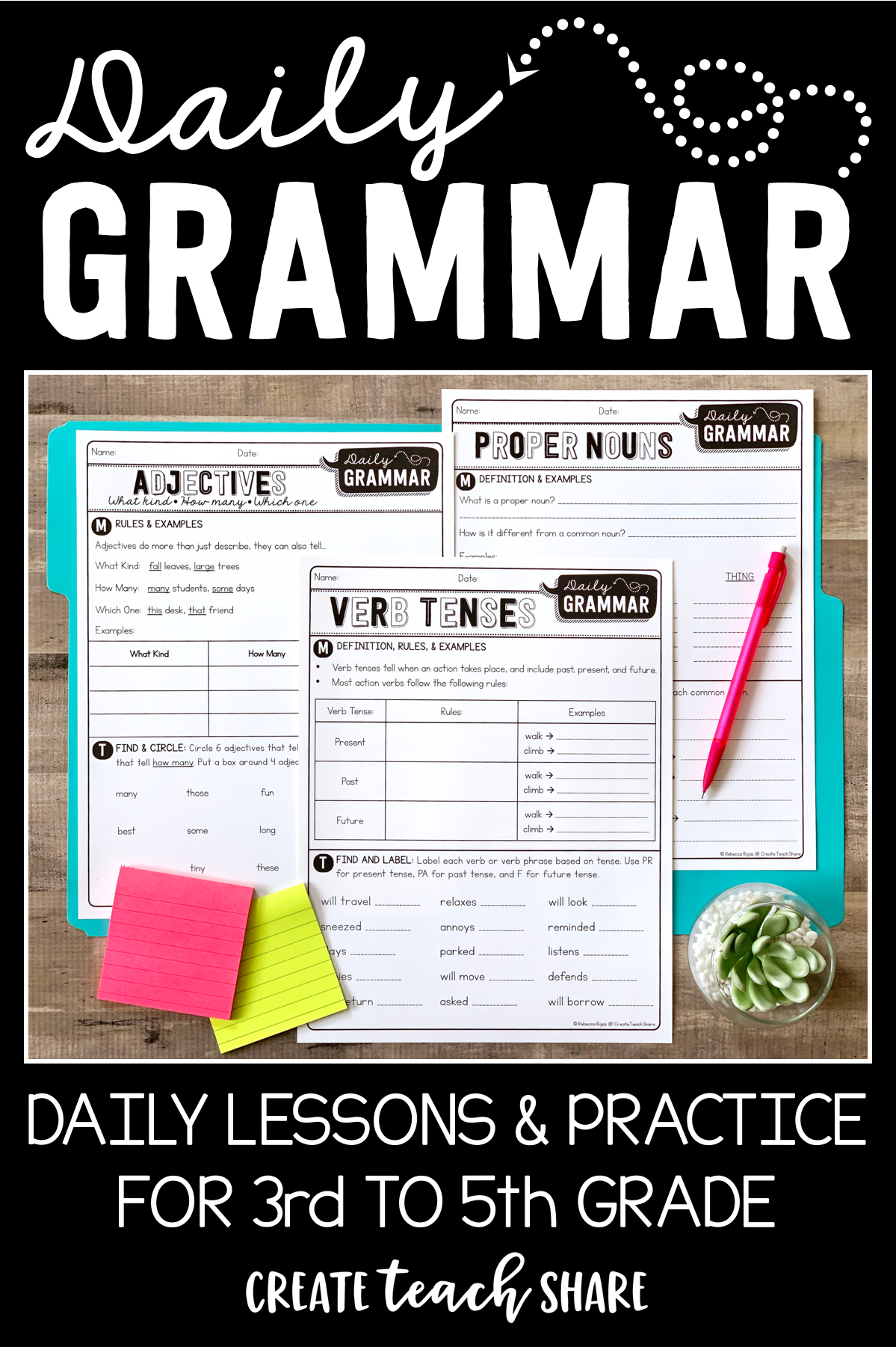 Teaching Grammar Has Never Been So Easy These Daily