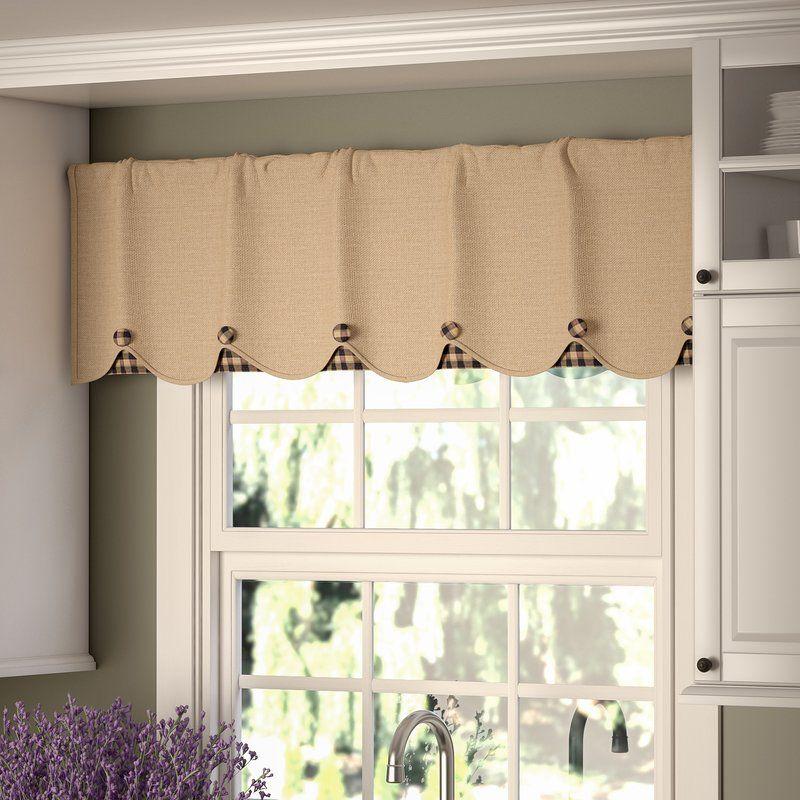 Addie Window Valance Valance Curtains Kitchen Window Treatments