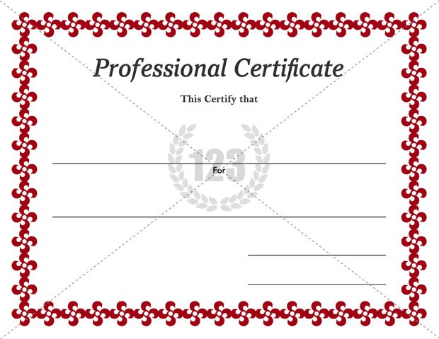 download and award professional certificates