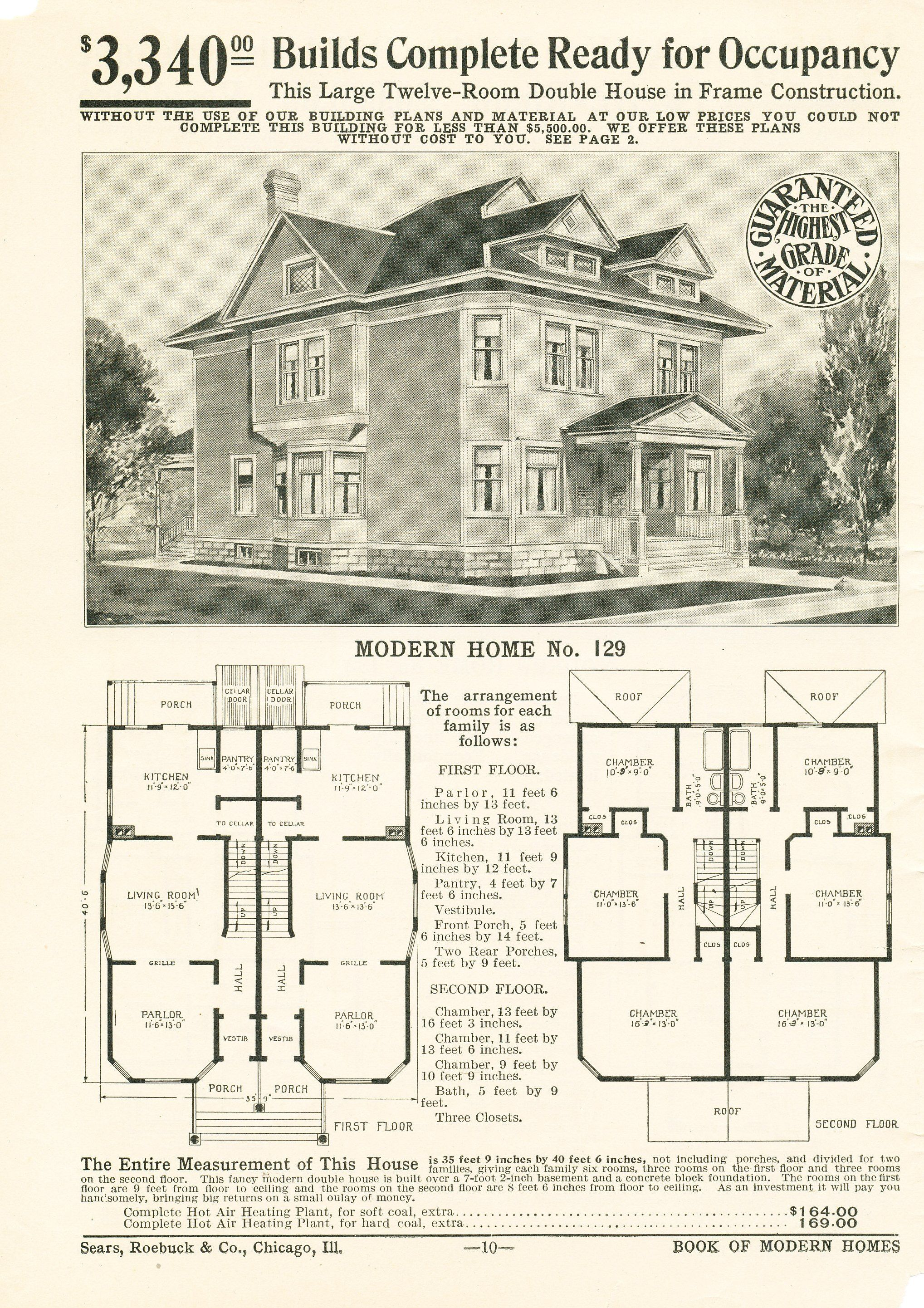 Rosethornil S Image House Plans With Pictures Vintage House Plans Multi Family Homes