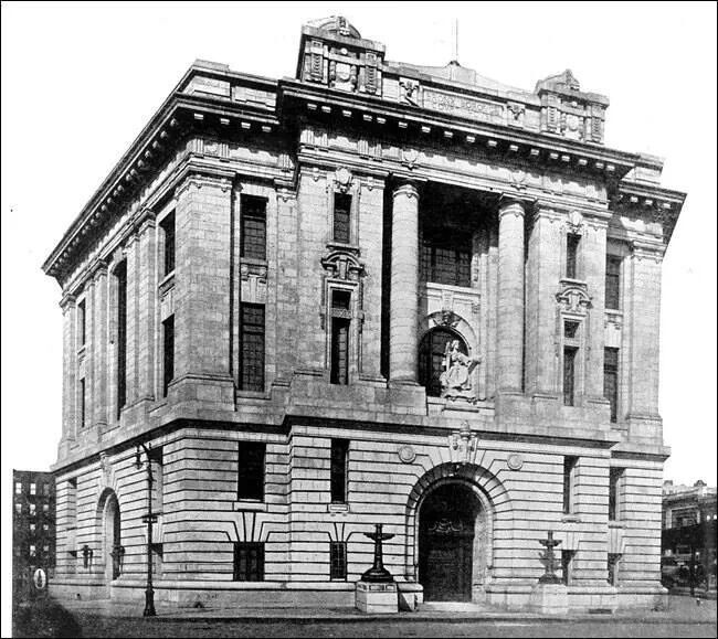 The Old Court House In The Bronx, NY