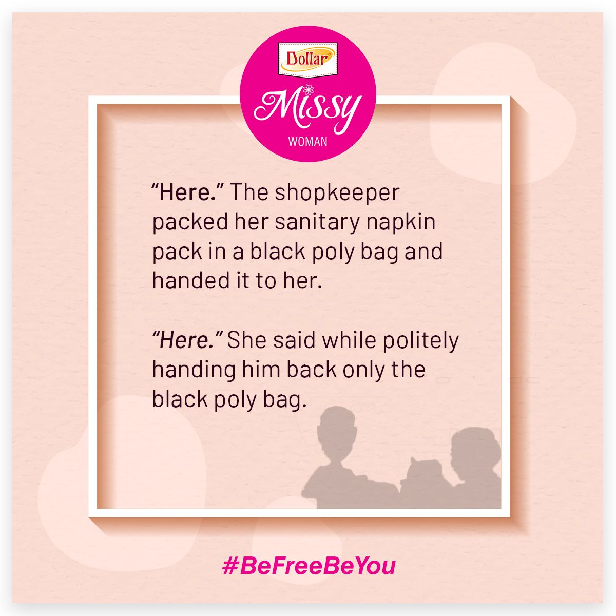 Pin on befreebeyou an initiative by dollar missy