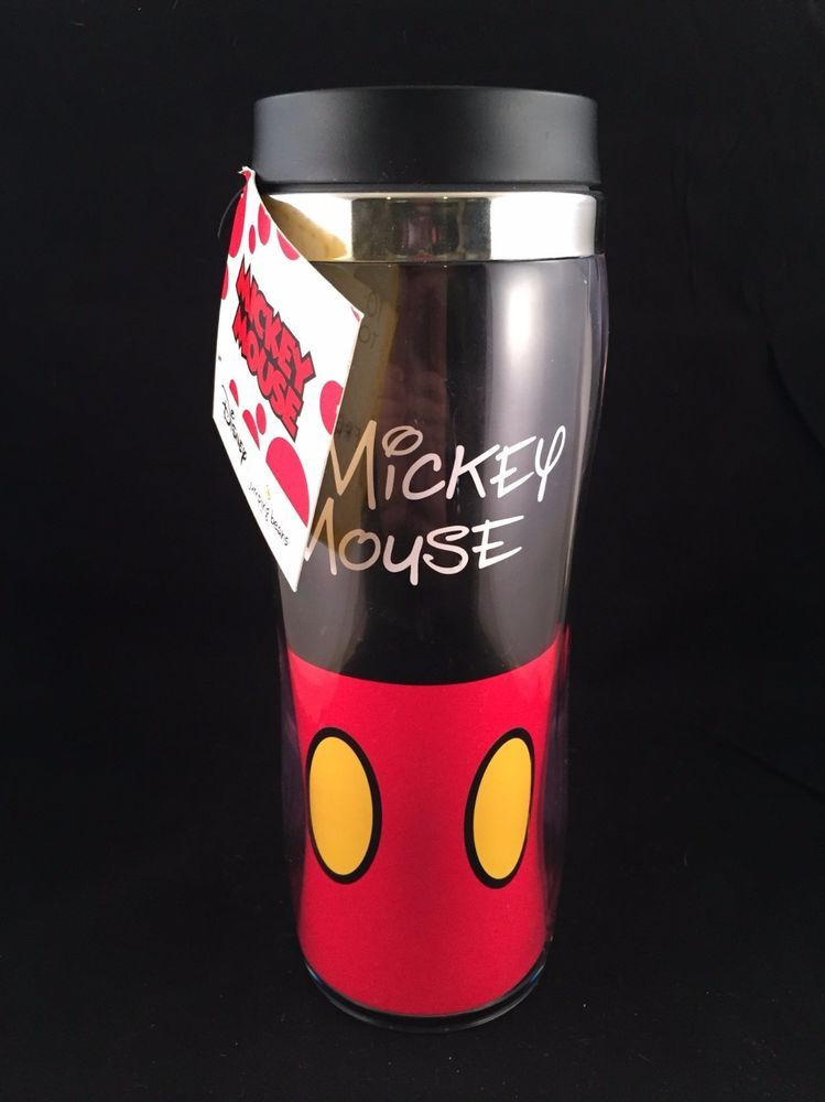 Kohl S Disney Jumping Bean Mickey Mouse Insulated Travel Coffee Mug Thermos Cup Thermos Cup Coffee Travel Mickey
