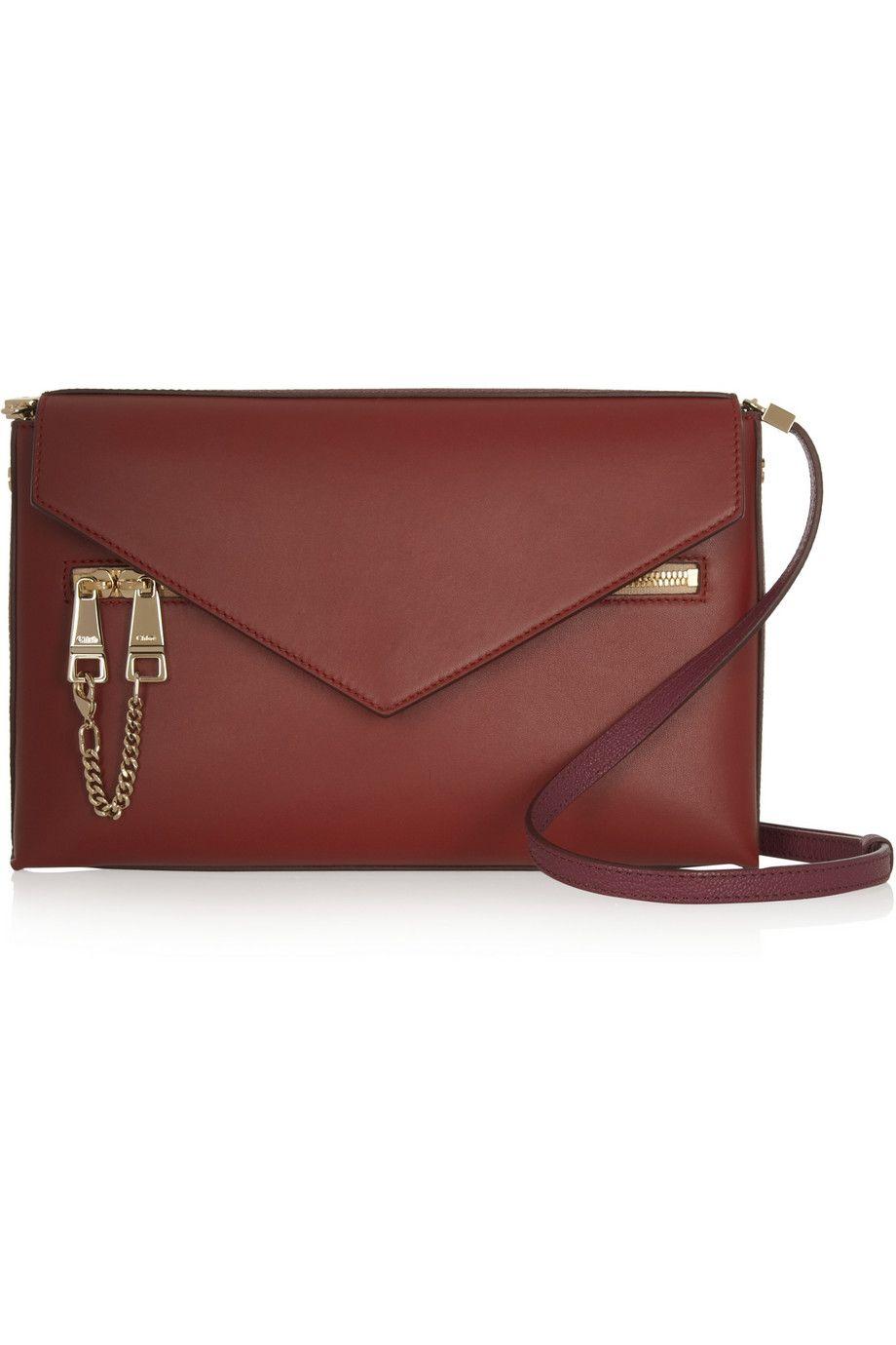 Chloé|Cassie medium leather shoulder bag|NET-A-PORTER.COM