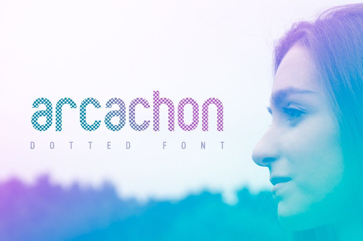 Download Arcachon Dotted Font | Arcachon, Font packs, Web font