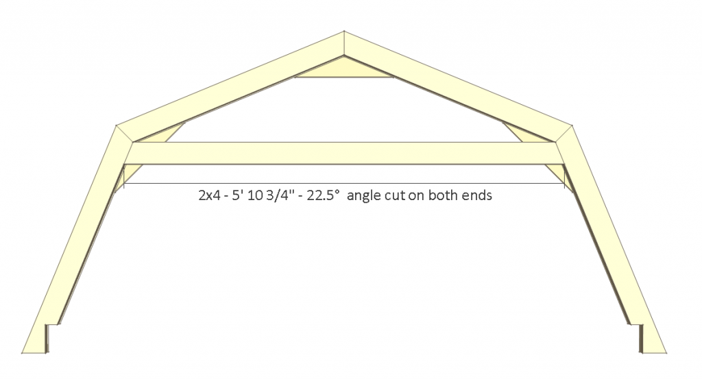 8x8 Shed Plans - Small Barn