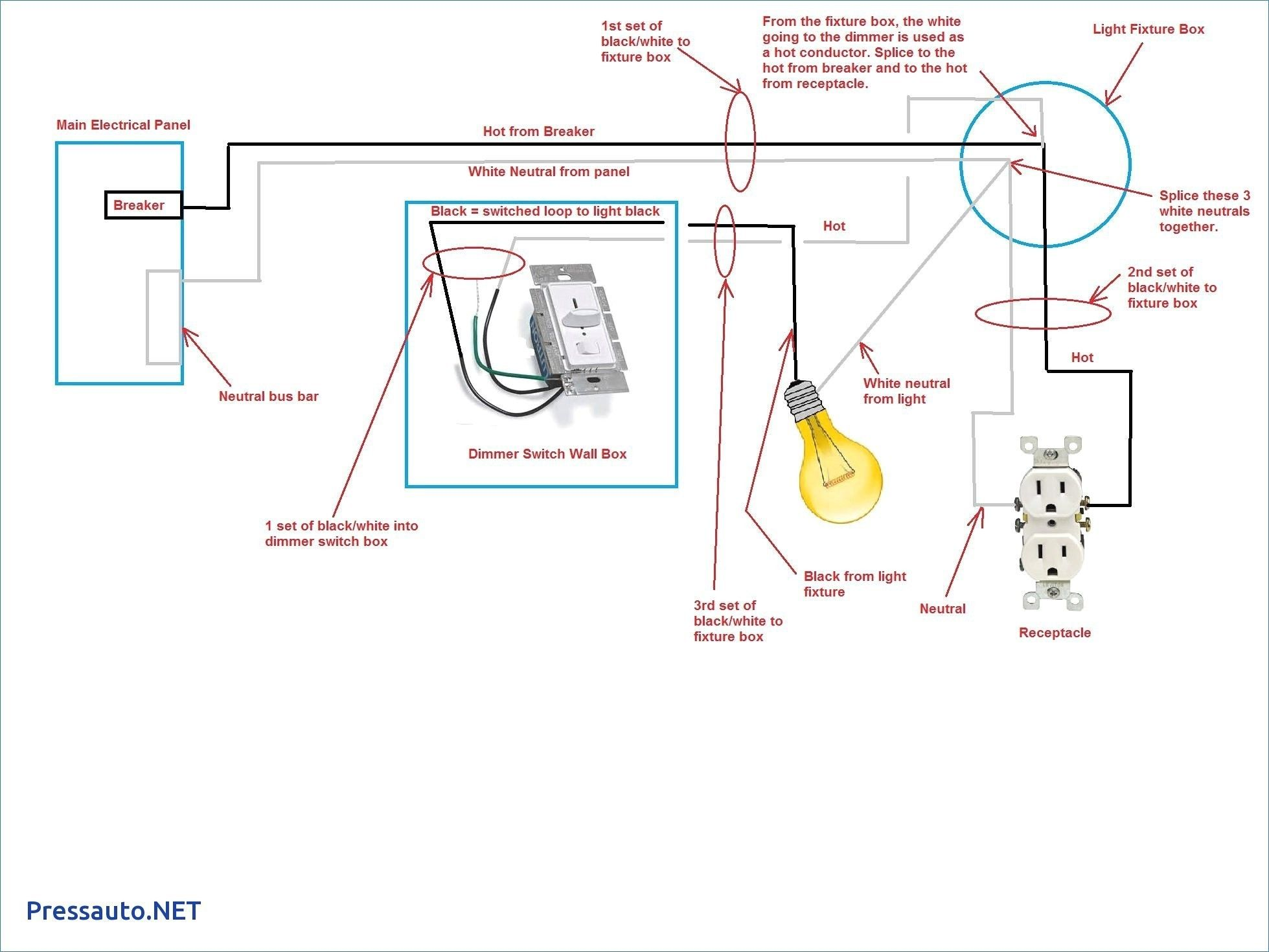 Best Of Light Switch Outlet Combo Wiring Diagram In 2020 Light Switch Wiring Circuit Diagram Diagram