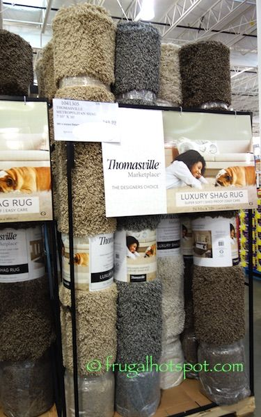 "thomasville marketplace shag rug 7'10"" x 10′. #costco"
