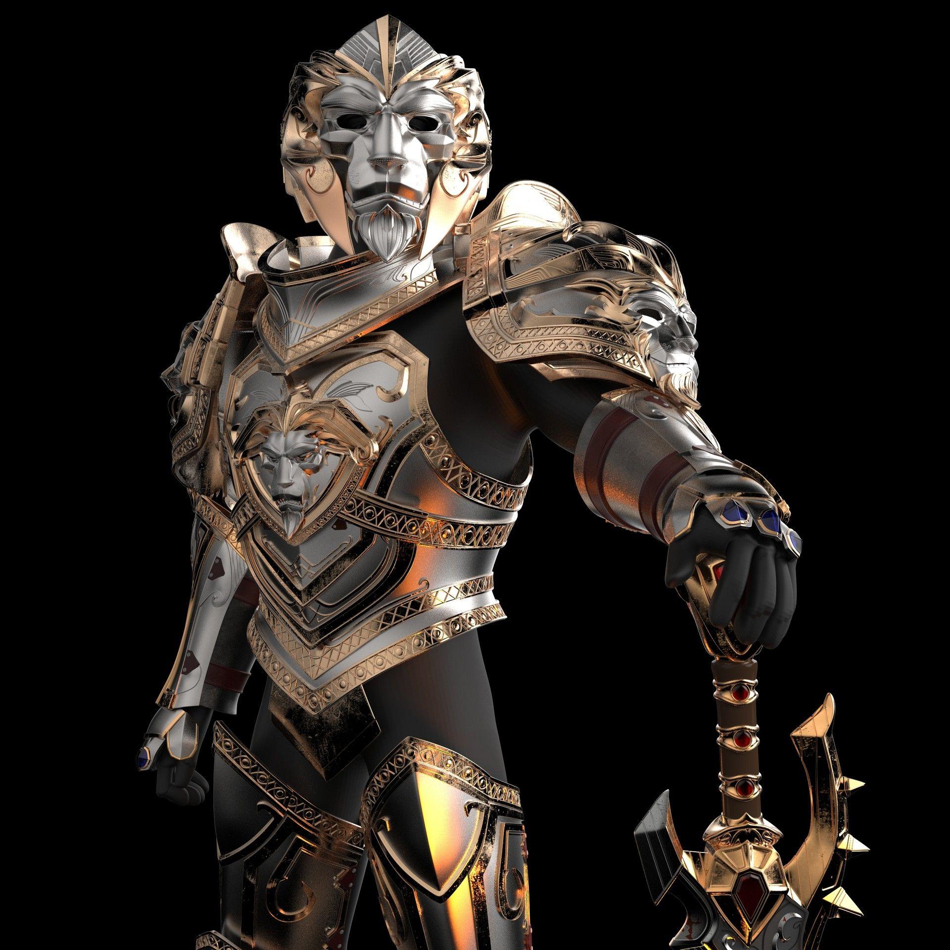 Wladimir Kovalenko Sword Anduin Wrynn Wow Battle For Azeroth 21 Cosplay Armor Wow Battle Armor