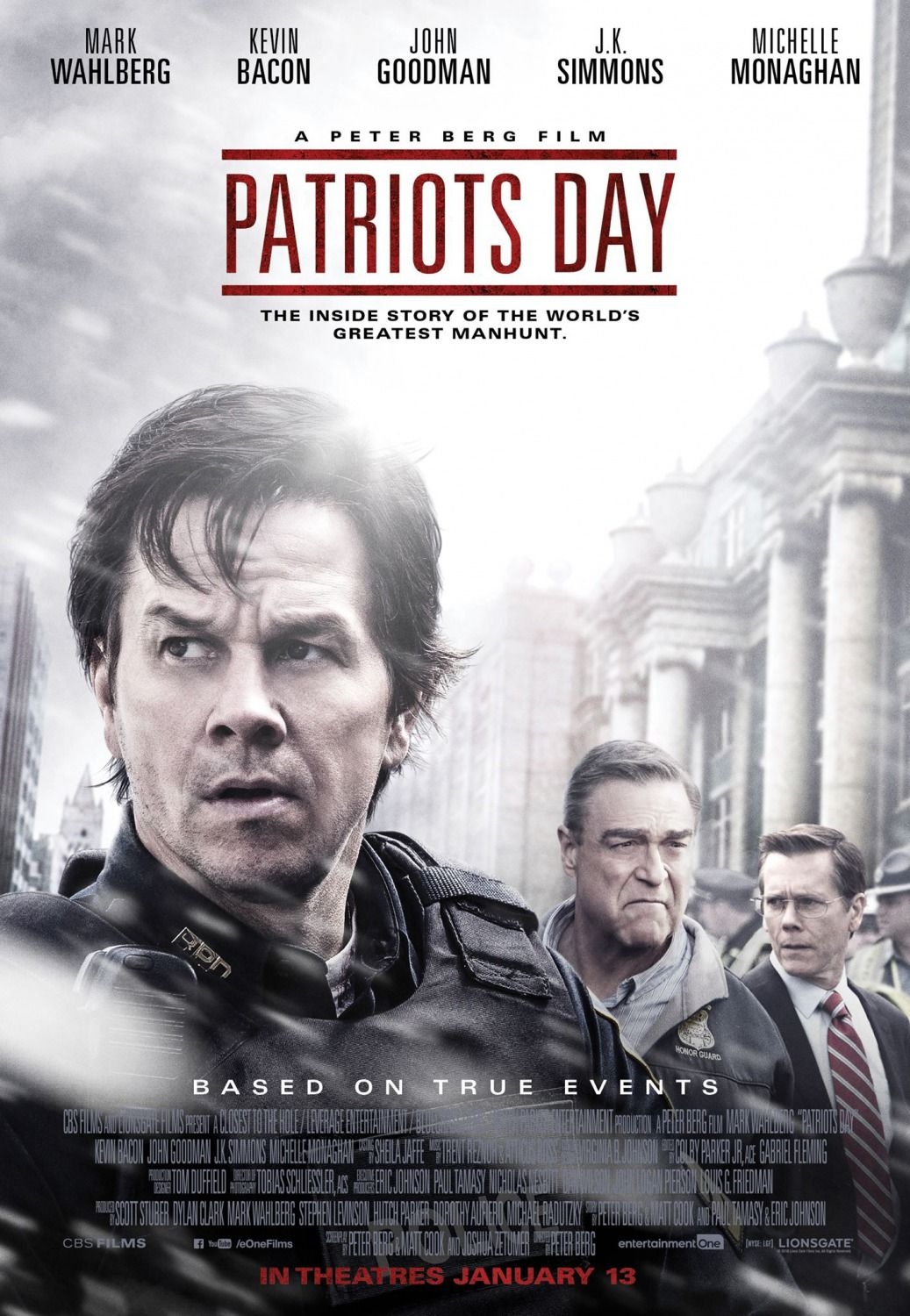 Return To The Main Poster Page For Patriots Day 2 Of 14 Patriots Day 2016 Patriots Day Full Movies Online Free