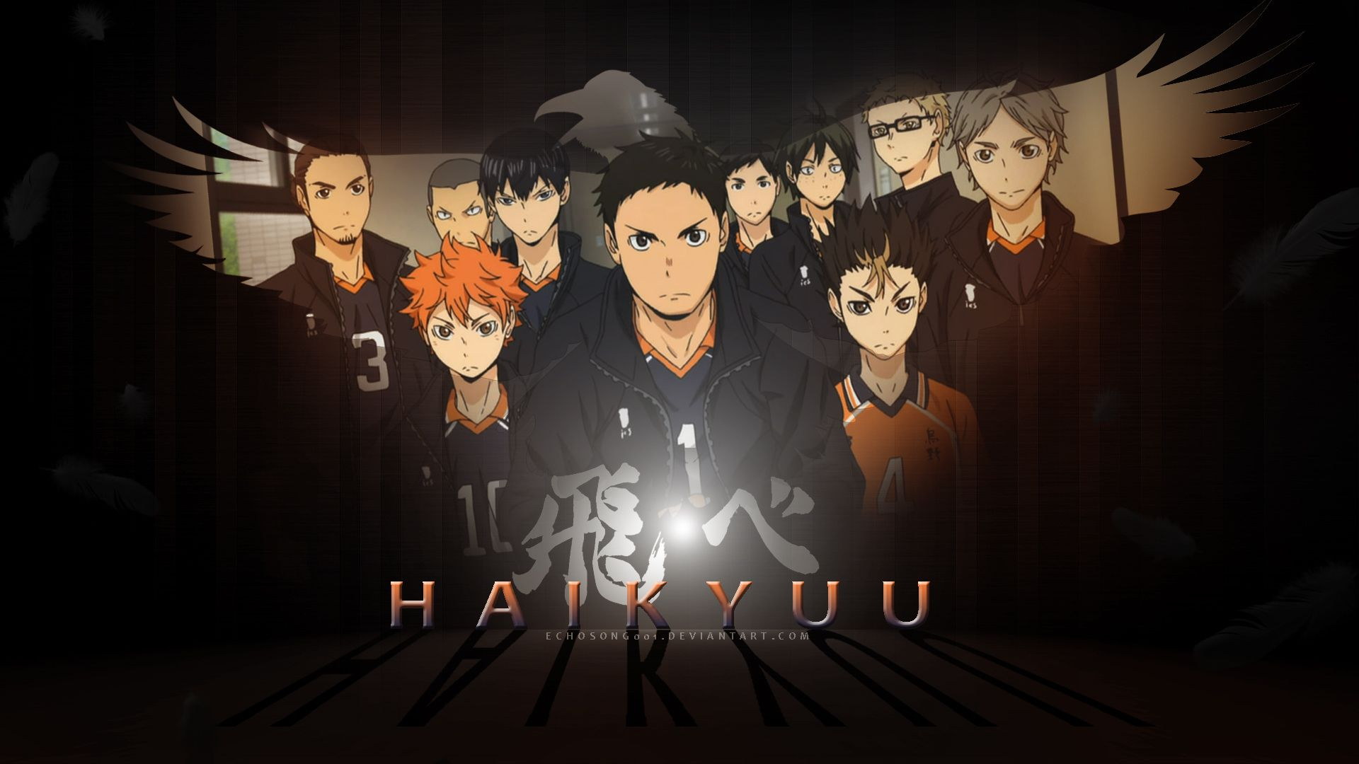 HAIKYUU! Wallpaper (1920x1080) Anime wallpaper, Haikyuu