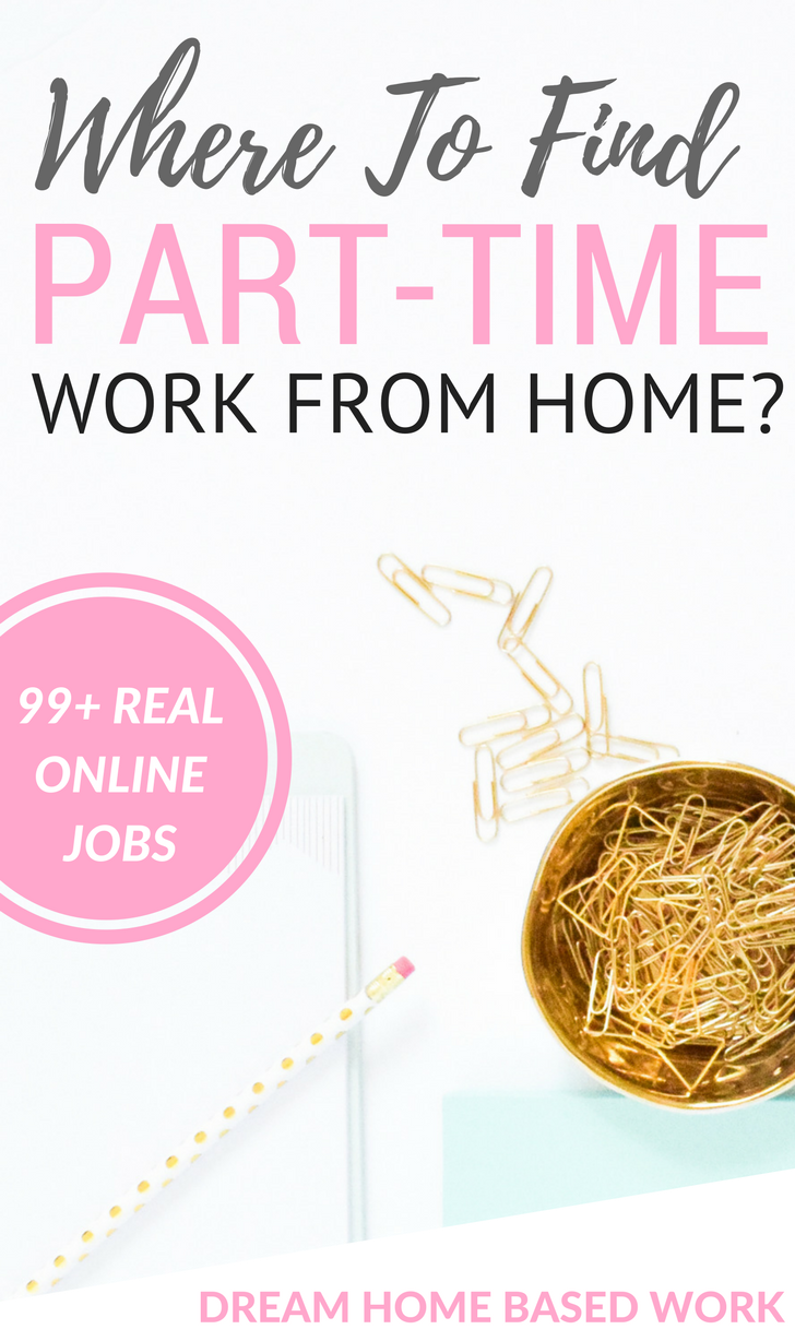 99 Companies Offering Part-Time Work at Home Jobs | Business and ...