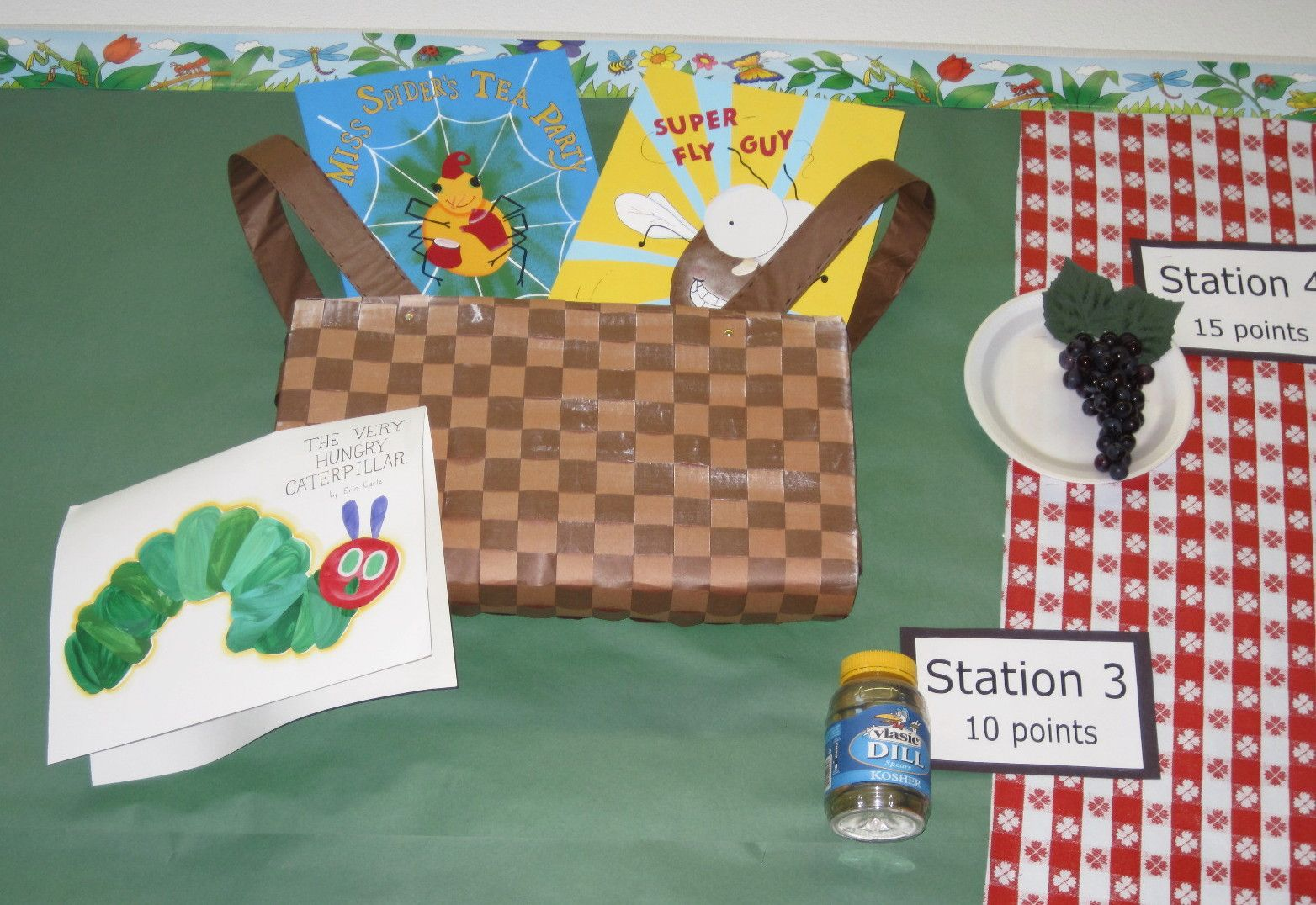 Accelerated Reader Stations On Our A R Bulletin Board