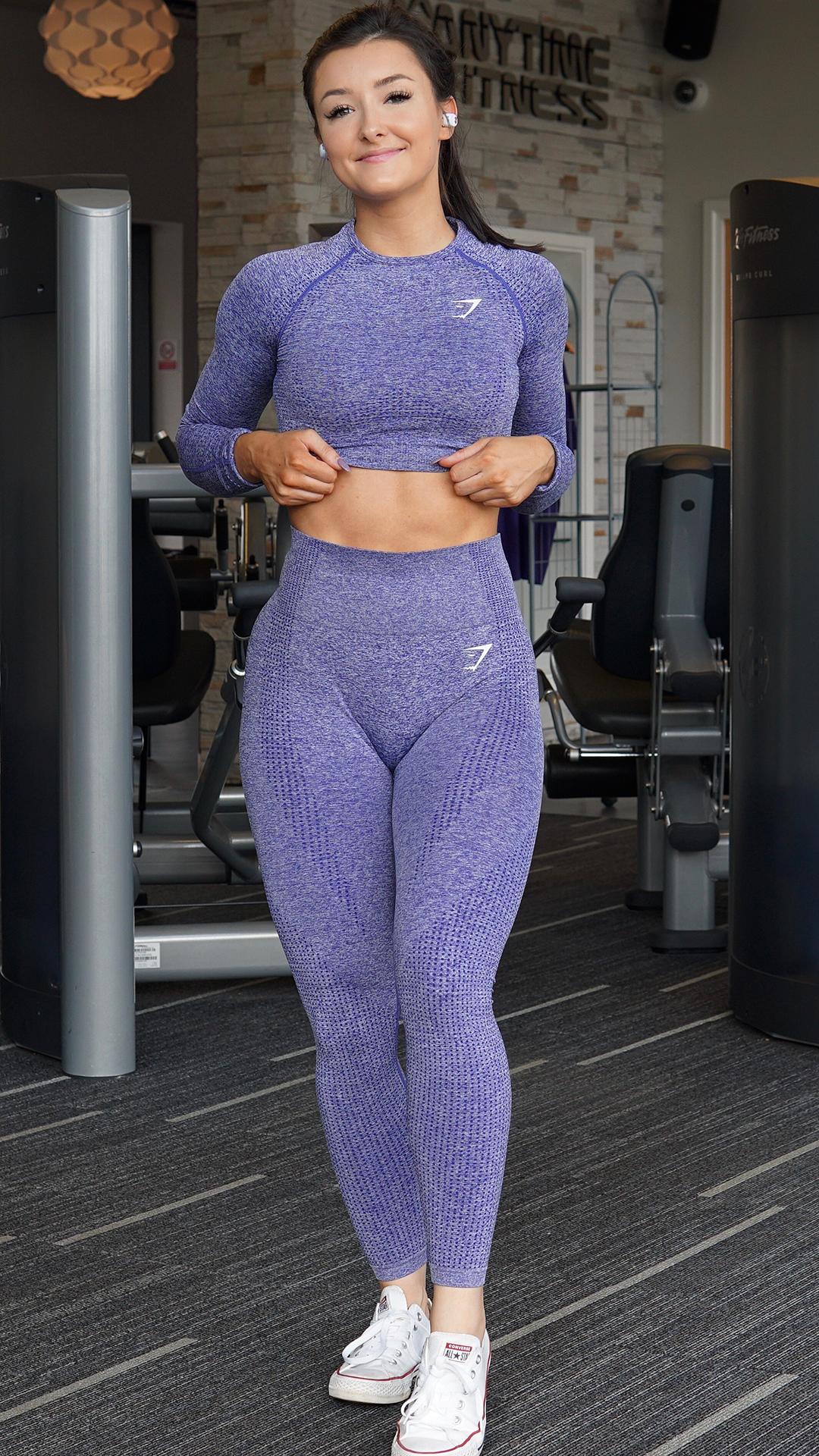 1cd77baf2d4b4 Beth Tomlinson rocks the Vital Seamless in the gym