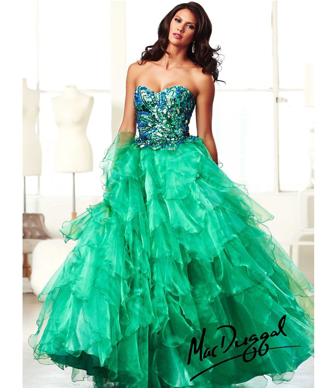 Peacock Color Prom Dress | Coisas para usar | Pinterest | Peacock ...