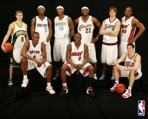 2003 NBA draft | Nba draft, 2003 nba draft, Nba legends