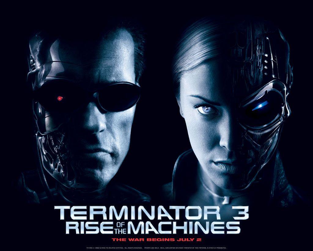 Movies Terminator 3 Rise Of The Machines 2003 Arnold Schwarzenegger Kristanna Loken Terminator Movies Movie Sequels Terminator
