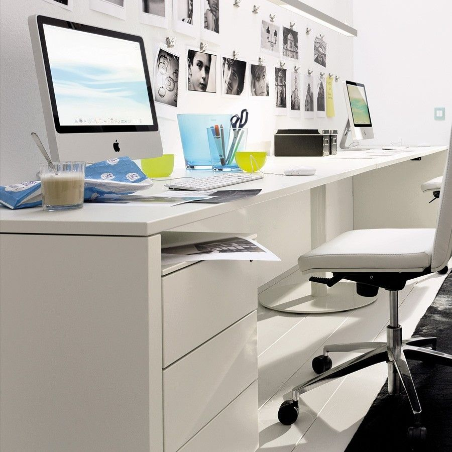 Wonderful Furniture, Handsome Computer Desks Small Spaces In Workspace Great White Designer  Desks For Small Home