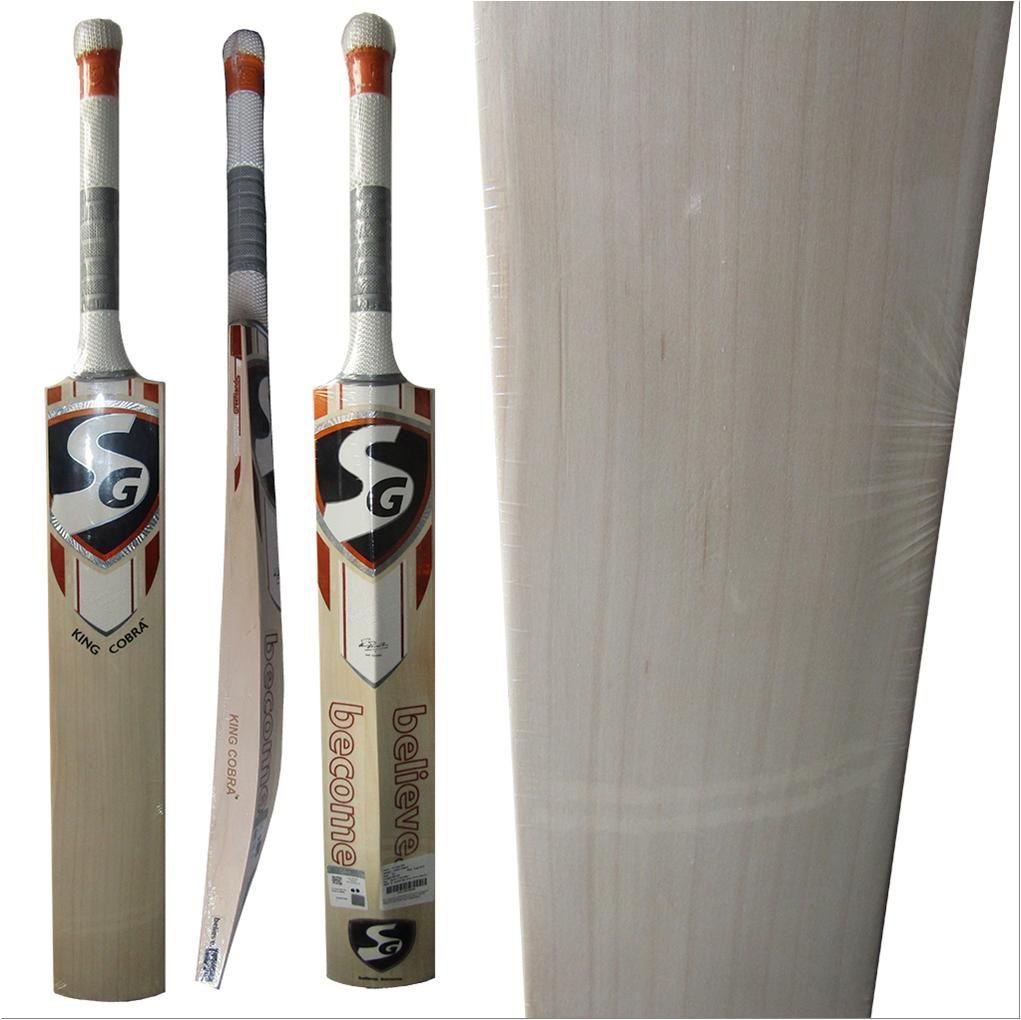 Sg King Cobra Cricket Bat English Standard Size Free Oiling And Knocking Buy Sg King Cobra Cricket Bat English Standard Size Free Oiling And Knocking Online A Cricket Bat King