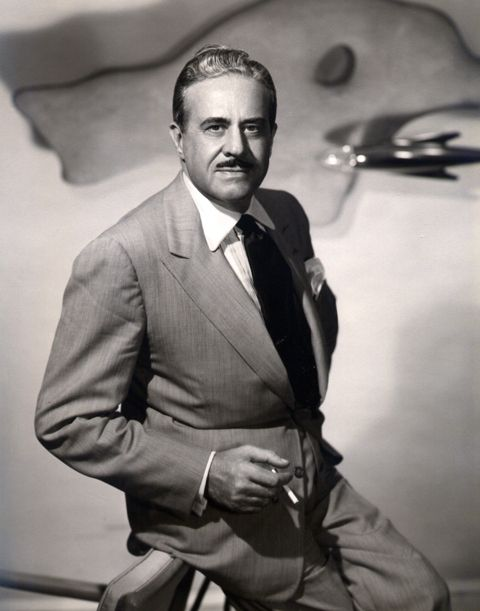Raymond Loewy, Industrial Designer also designed logotypes for major American companies.