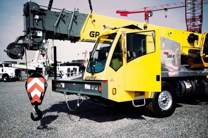 Manitowoc Grove Tms500 2 Big Rig Trucks Truck Cranes Crane