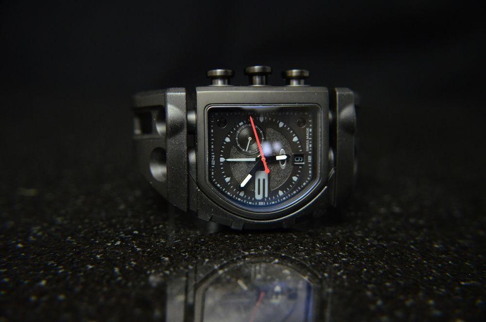 oakley men's watch 26-300 fuse box stealth black watch   watches for men,  wrist watch, black watch  pinterest