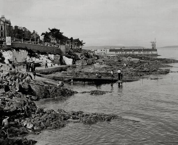 Bangor pickie pool date unknown the aul sod northern - Bangor swimming pool northern ireland ...
