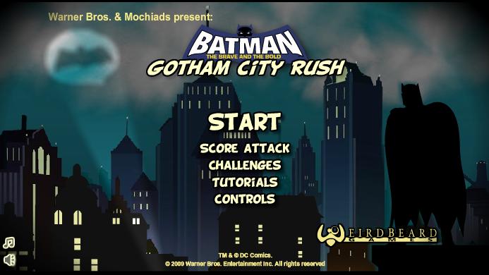 Batman Gotham City Rush Rush games, Batman games, Gotham