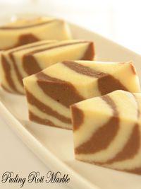 Puding Roti Marble Roti Desserts