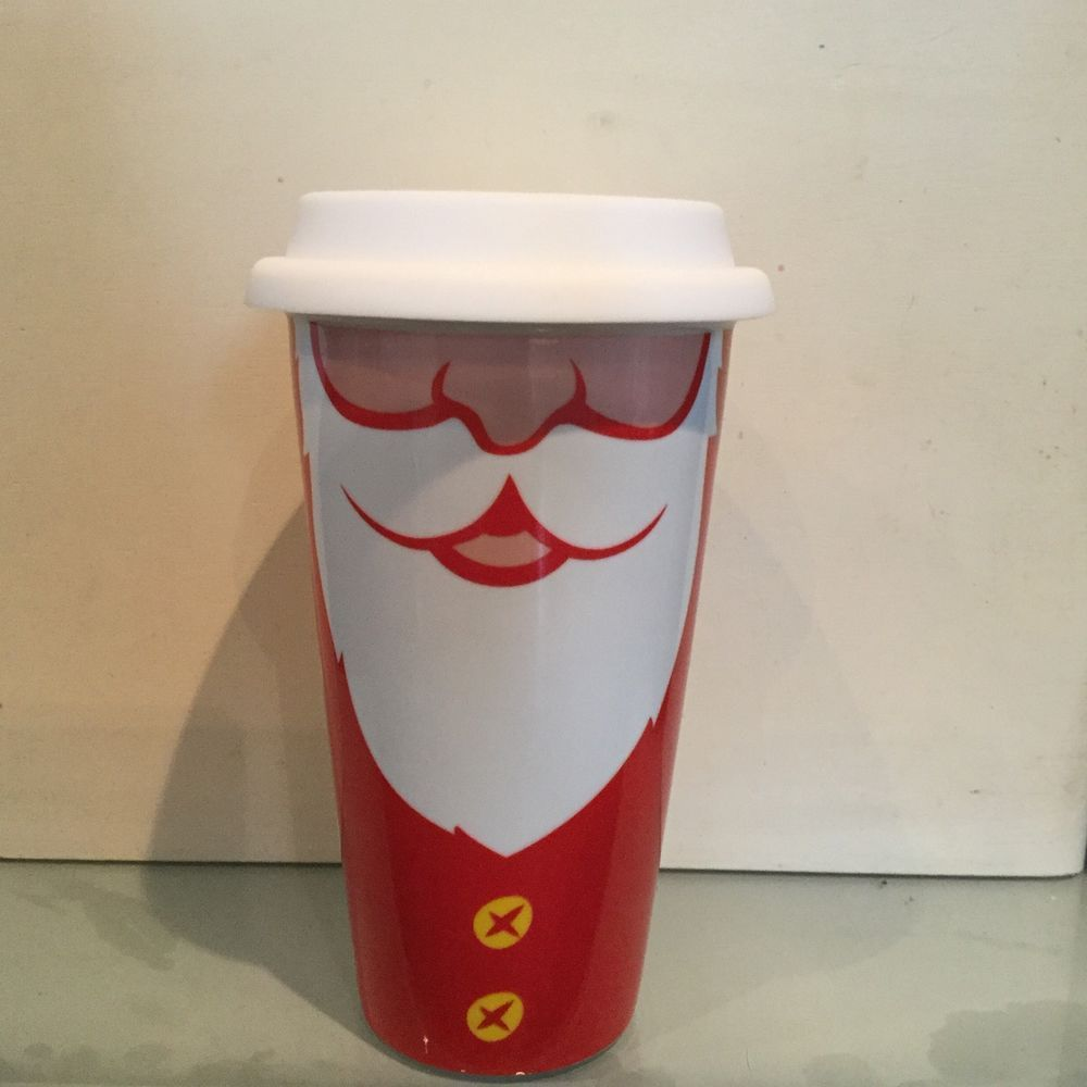 Costa Coffee Ceramic Xmas Travel Mugs Costa Coffee Travel