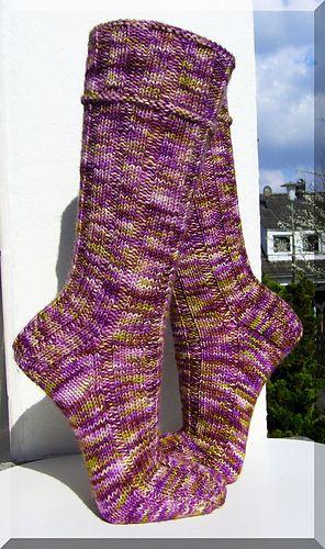 Dieses Muster ist für 6-fädige Sockenwolle.