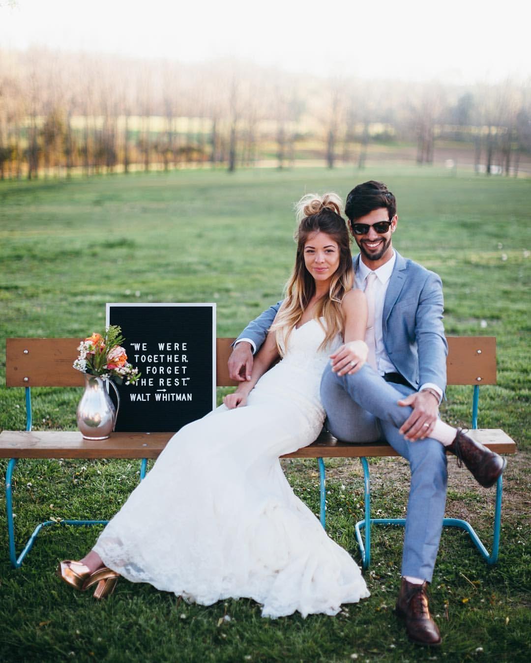 Wedding Elopement Ideas: Letterboard: Letterfolk.com