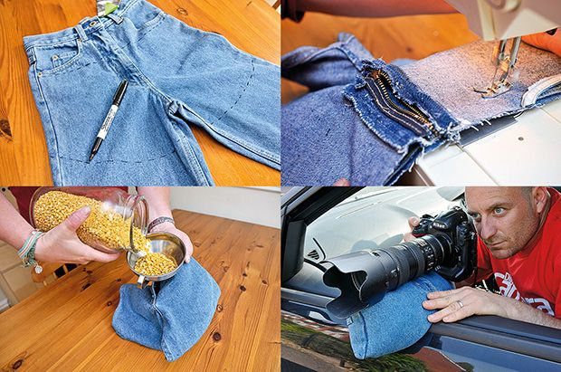 Make a diy bean bag stabilizer using old jeans and some lentils make a diy bean bag stabilizer using old jeans and some lentils solutioingenieria Gallery