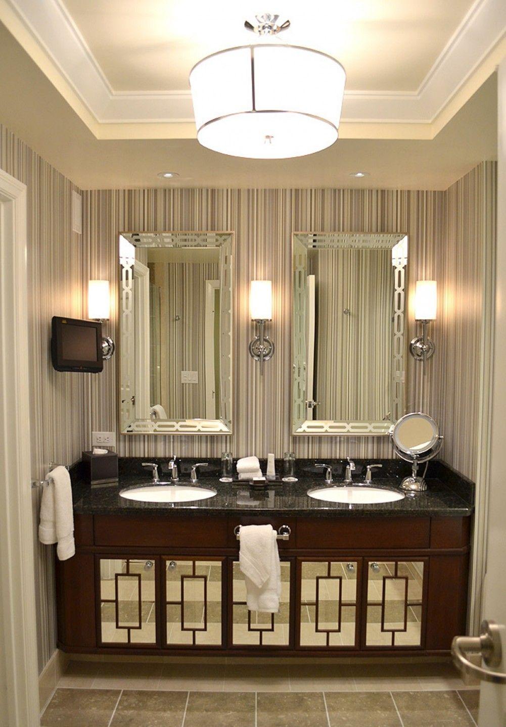 bathroom lighting sconces or overhead | House Interior Design ...