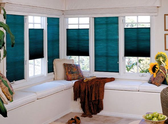 I want these blinds want the up or down feature anyone for Blind ideas for bay windows