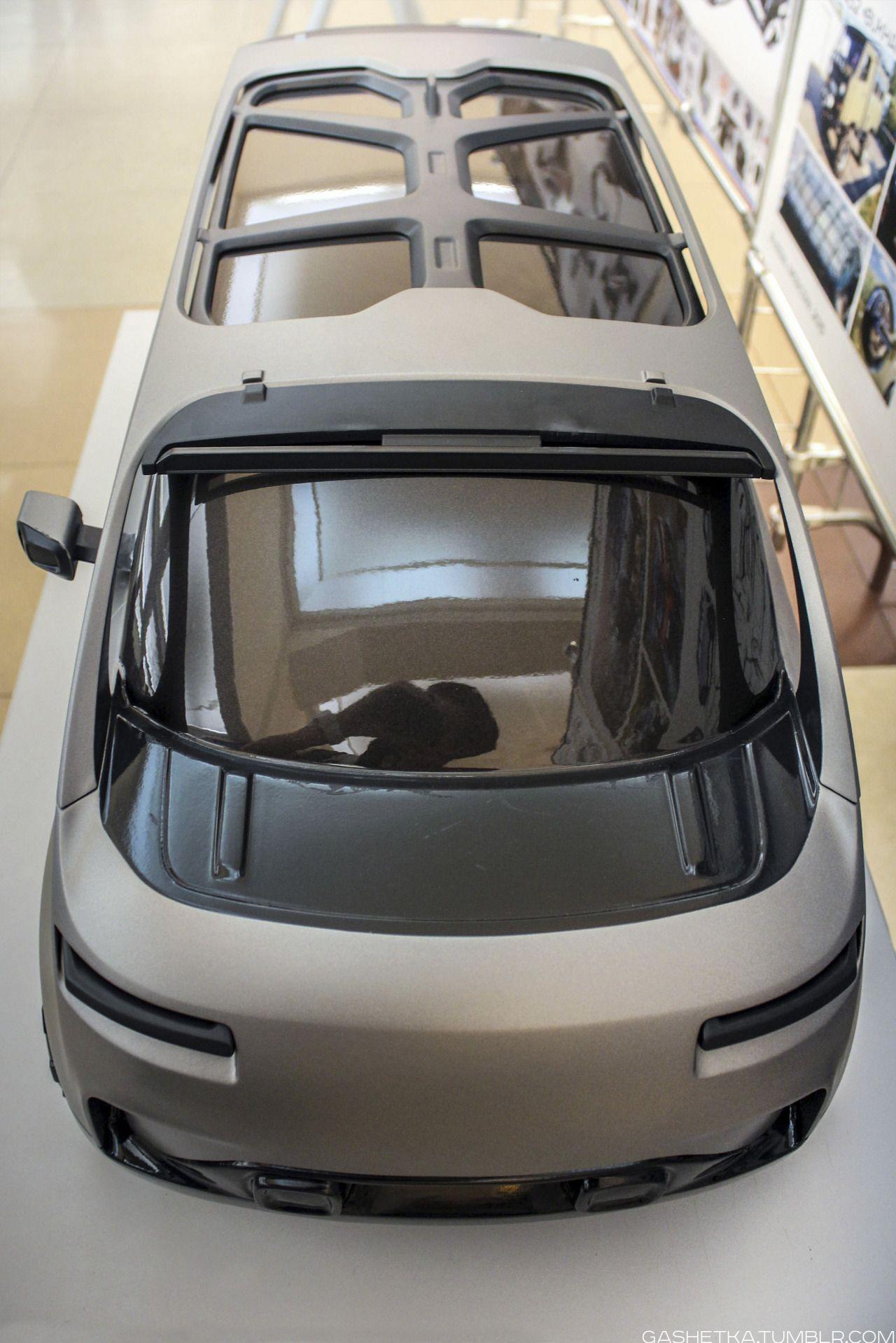 Gashetka Mini Van Futuristic Cars Transportation Design