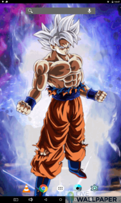 Goku Ultra Instinct Live Wallpaper A Cool Phone