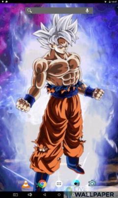 Son Goku Ultra Instinct Live Wallpaper Iphone