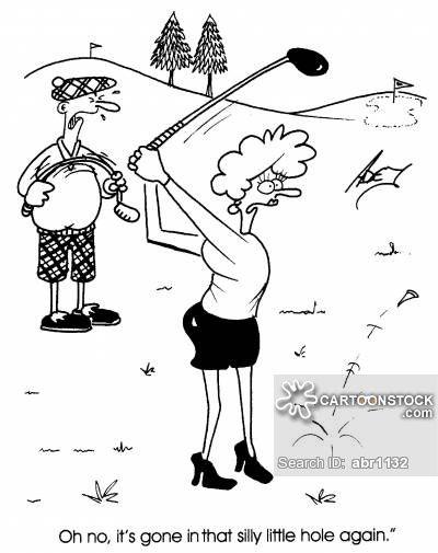 Image Result For Female Golf Cartoon