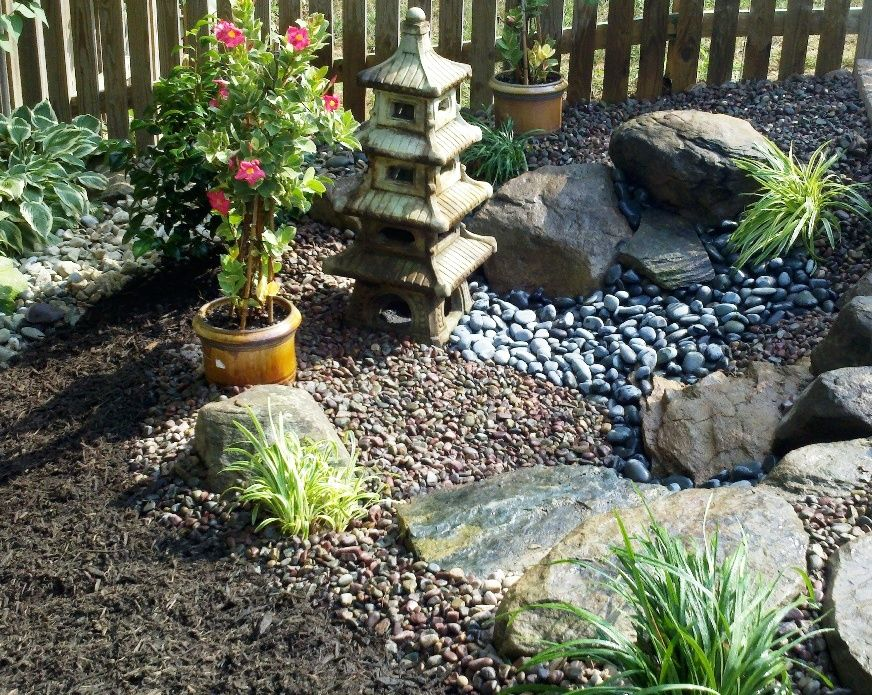 Asian Inspired Garden We Design And