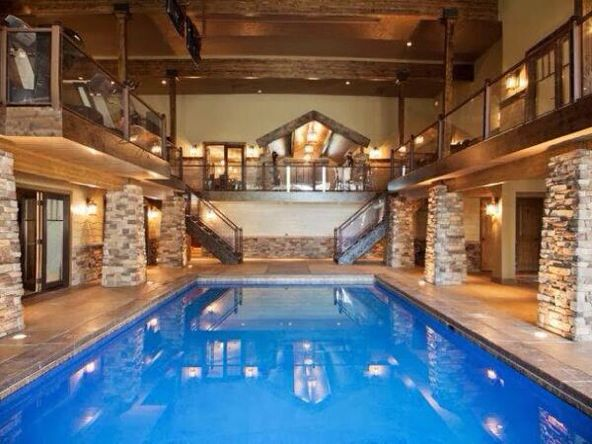 Pin By Jessica Slezak On For The Home Indoor Pool Design Swimming Pool House Pool House Designs