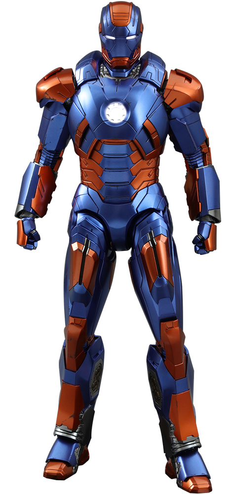 BLOG DOS BRINQUEDOS: Iron Man Mark XXVII - Disco Marvel Sixth Scale Fig...