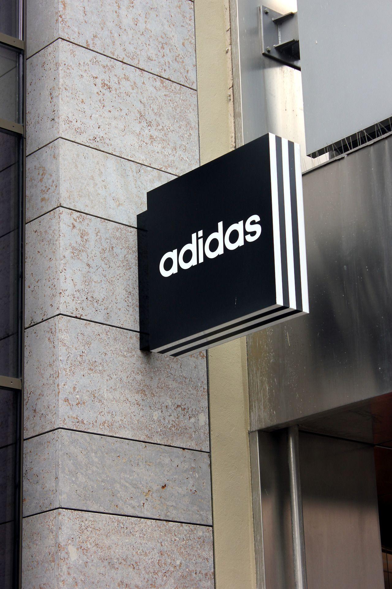 signage | Adidas Originals | Retail signage, Signage design