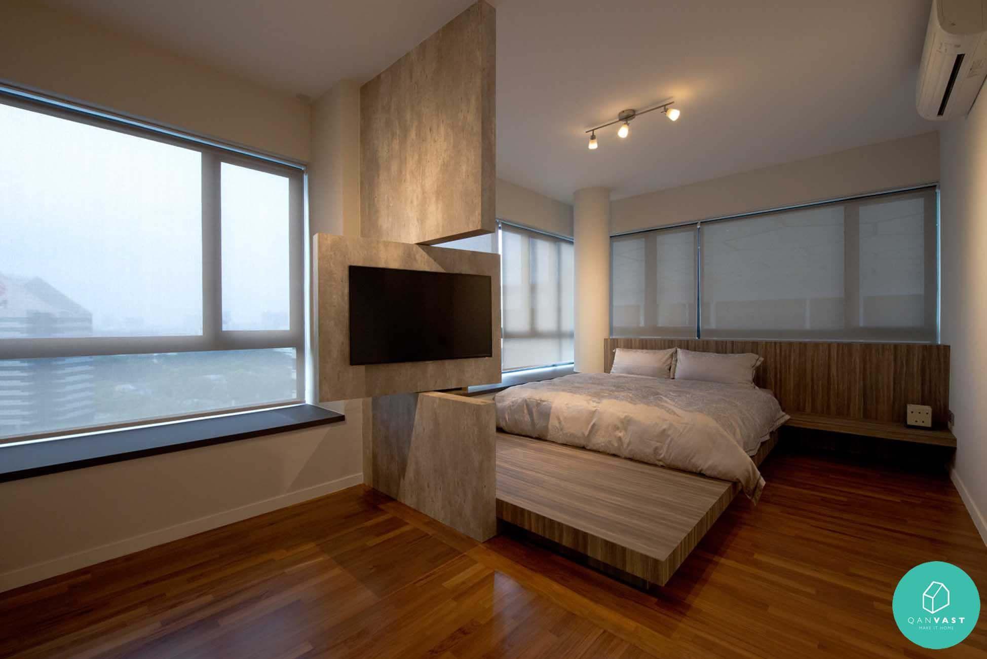 platform bed. Black Bedroom Furniture Sets. Home Design Ideas