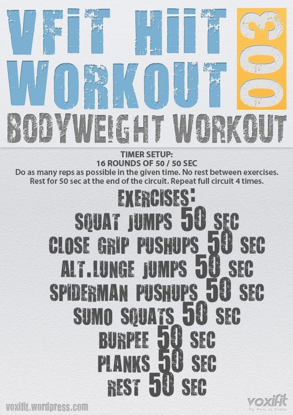Blast Body Fat With This Intense Full Bodyweight Workout