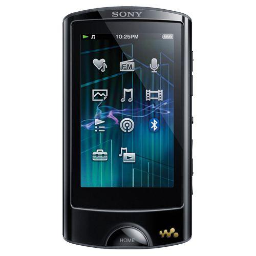 HIGH ON MY WISH LIST :-) Lecteur MP3 et vidéo à écran tactile de 8 Go de Sony (NWZA864B) - Noir